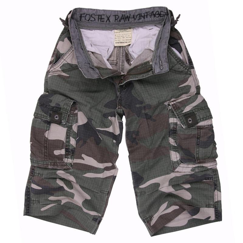Camouflagekleding korte broek voor kids