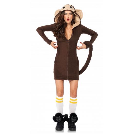 Carnaval apen kostuum voor dames