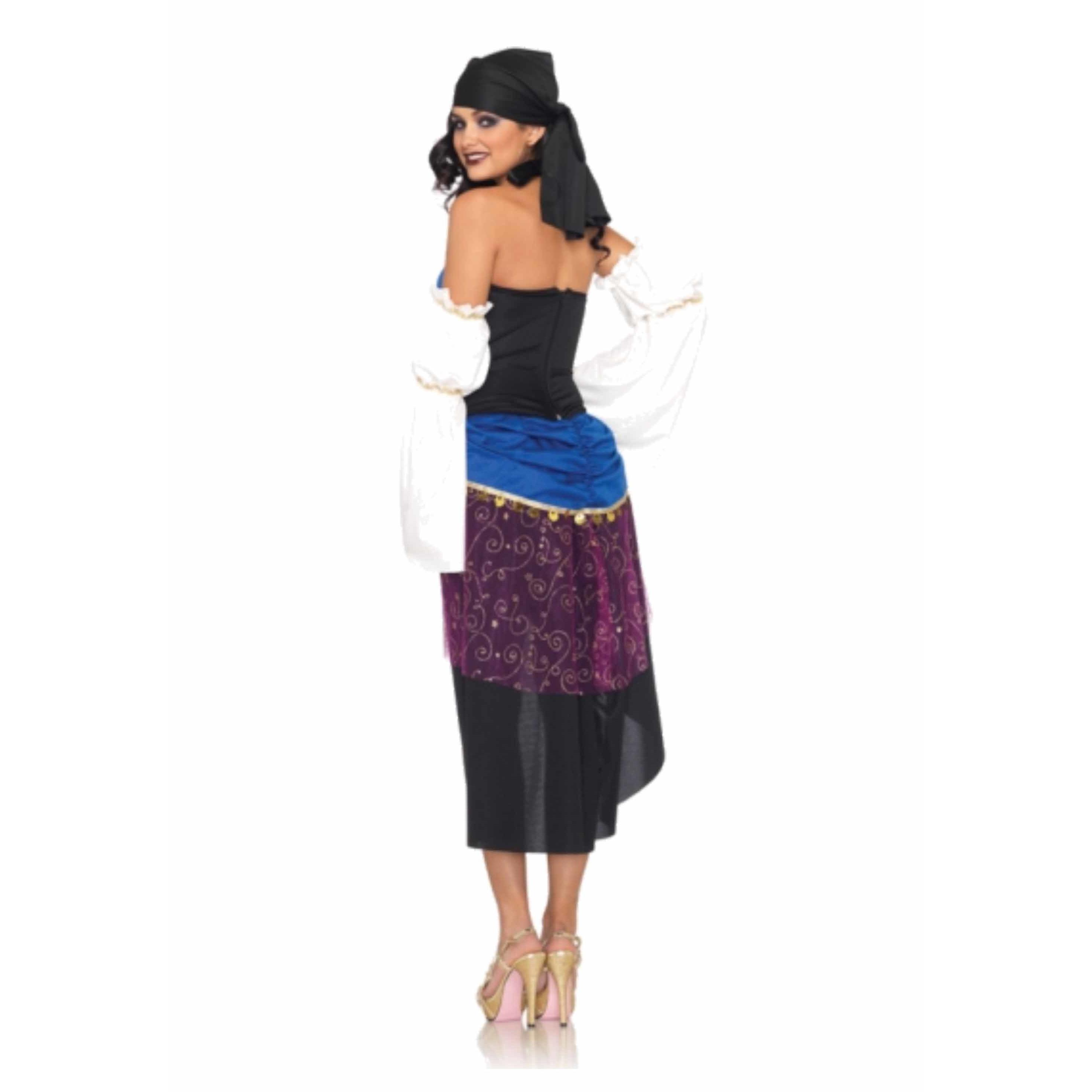 Carnaval gypsy kostuum voor dames