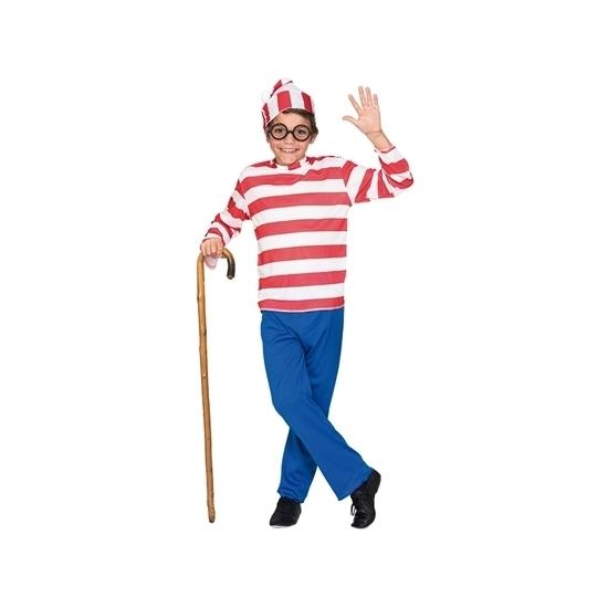 Carnavalskostuum Waar is Wally kids