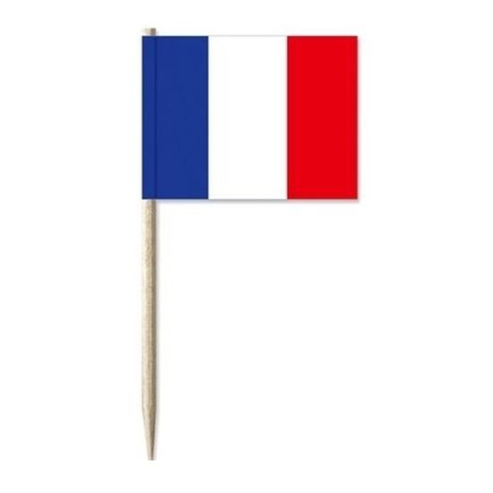 Cocktailprikkers Frankrijk 50 stuks