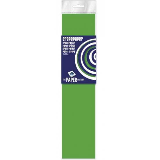 Crepe papier plat neon lime 250 x 50 cm knutsel materiaal