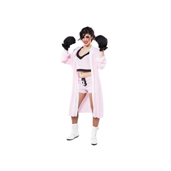 Dames kickbokser verkleedkleding
