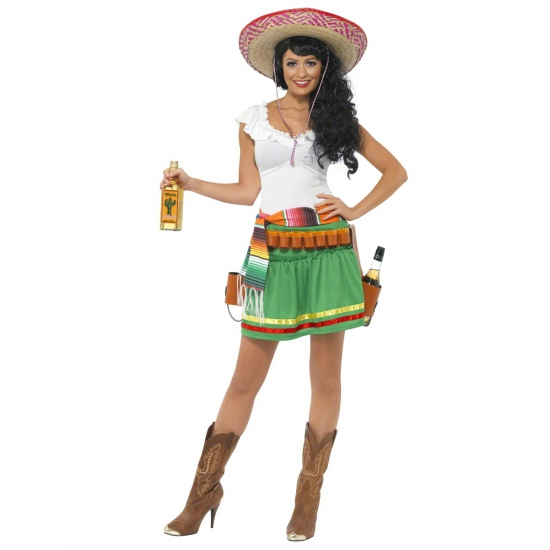 Dames verkleedkleding tequila