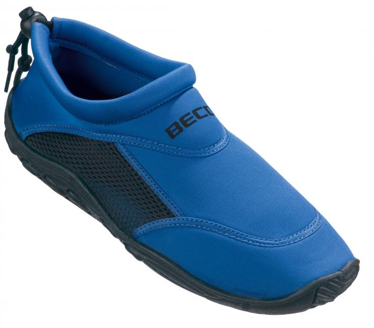 Dames waterschoenen neopreen blauw