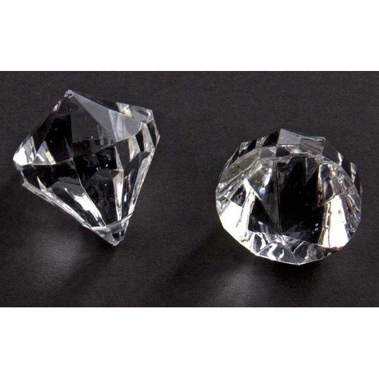 Diamantjes transparant 30 mm