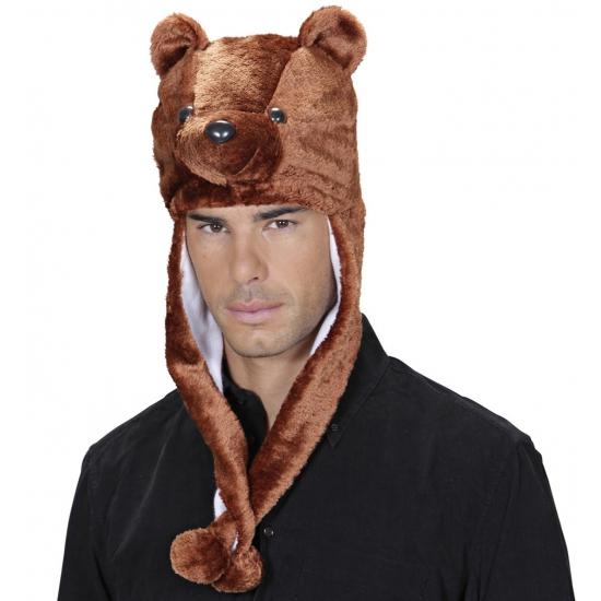 Dieren hoodies beren muts