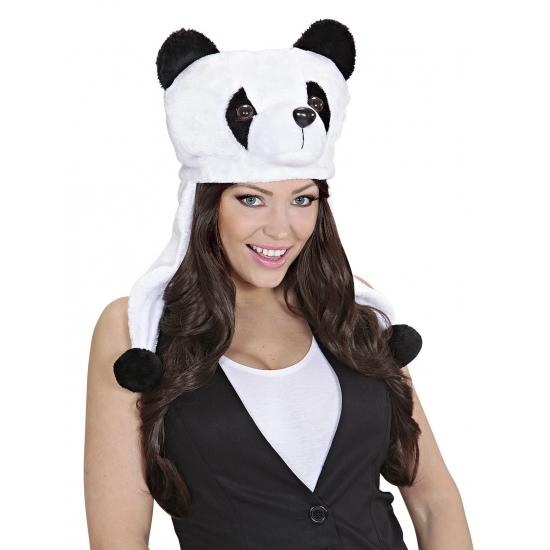 Dieren hoodies panda muts