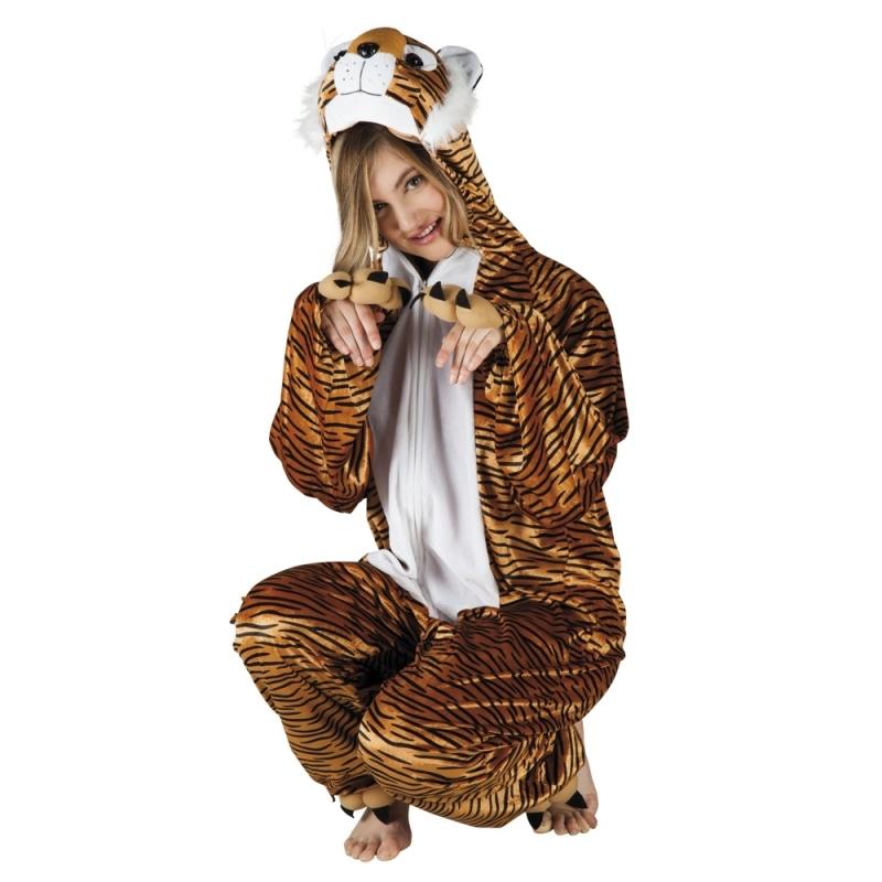 Dierenkostuum tijger dames