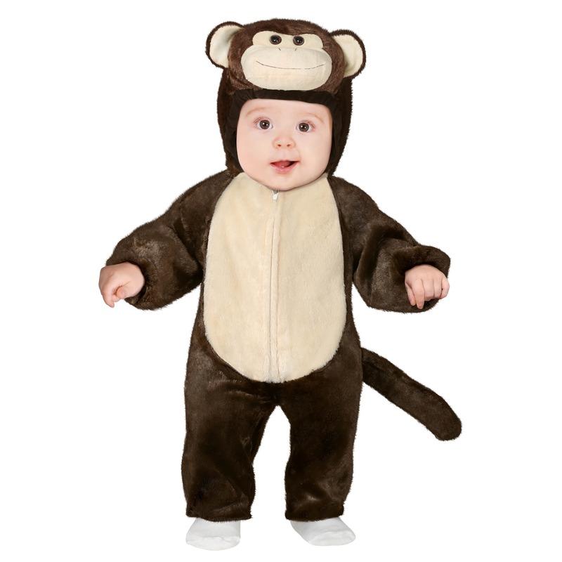 Dierenpak aap/apen verkleed kostuum voor peuters 12-18 maanden