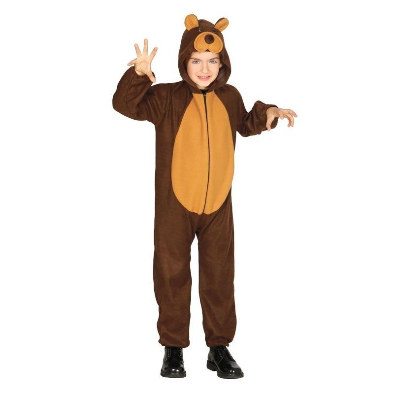 Dierenpak verkleed kostuum beer voor kinderen