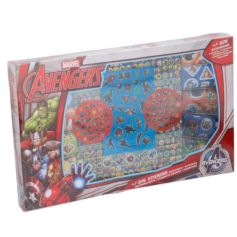 Disney Avengers stickersbox 575 stuks