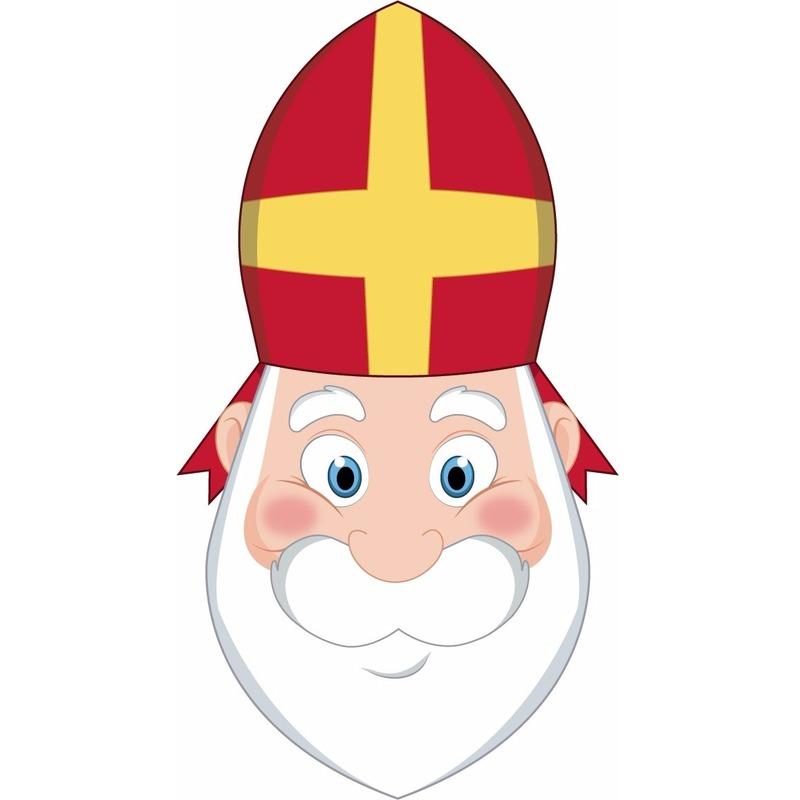 DIY Sinterklaas masker voor kinderen
