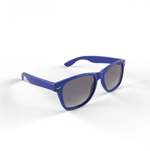 Donkerblauwe zonnebril