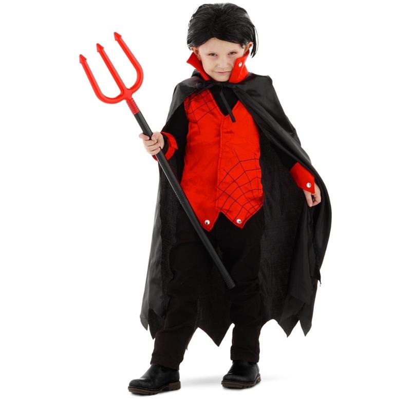 Dracula/vampier verkleed kostuum met cape voor kinderen
