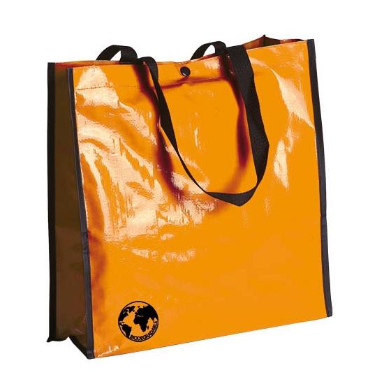 Eco shopper tas oranje