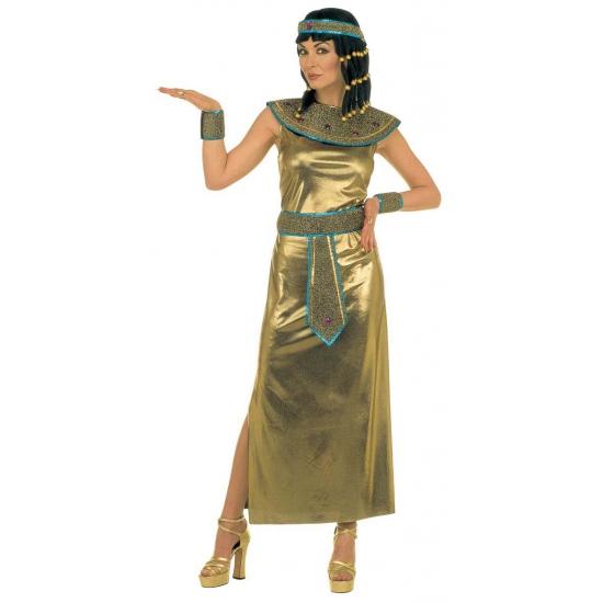 Egypstische dames jurk goud
