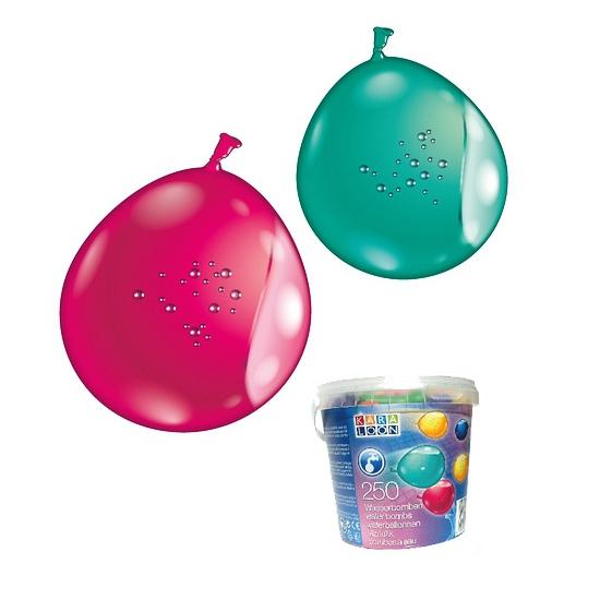 Emmer met 250 waterballonnen