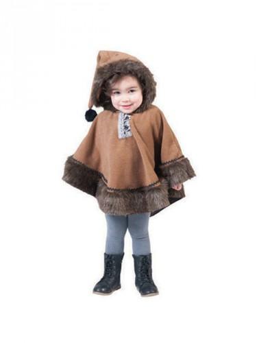 Merkloos Eskimo carnaval kostuum voor peuters