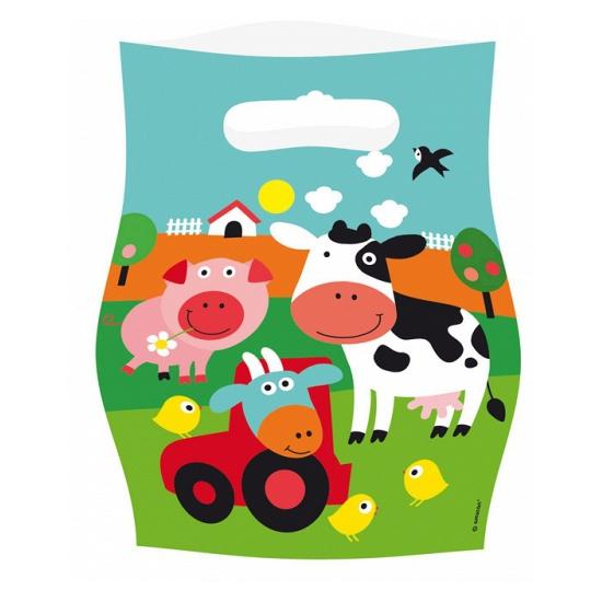 Feest zakjes boerderij thema