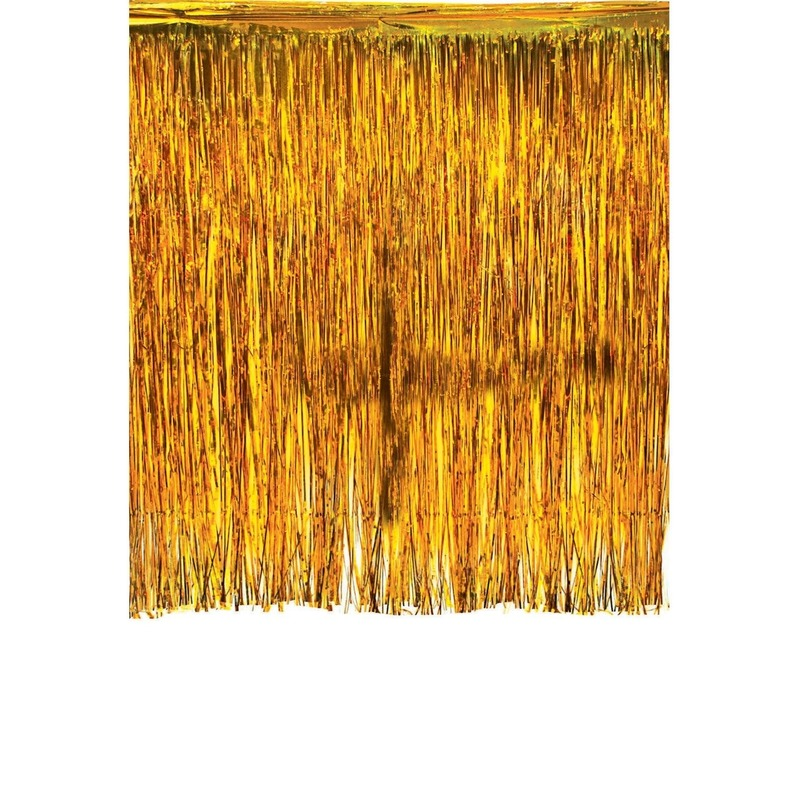 Foliegordijn goud