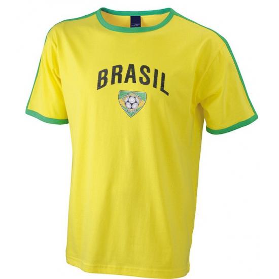 Geel voetbal shirt Brasil