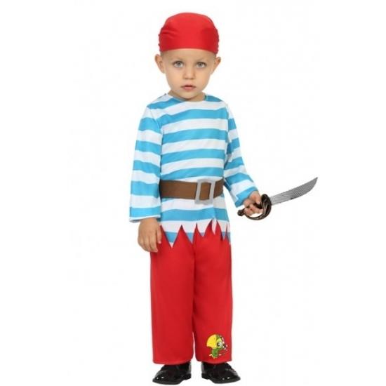 Geschiedenis piraten kostuum peuters
