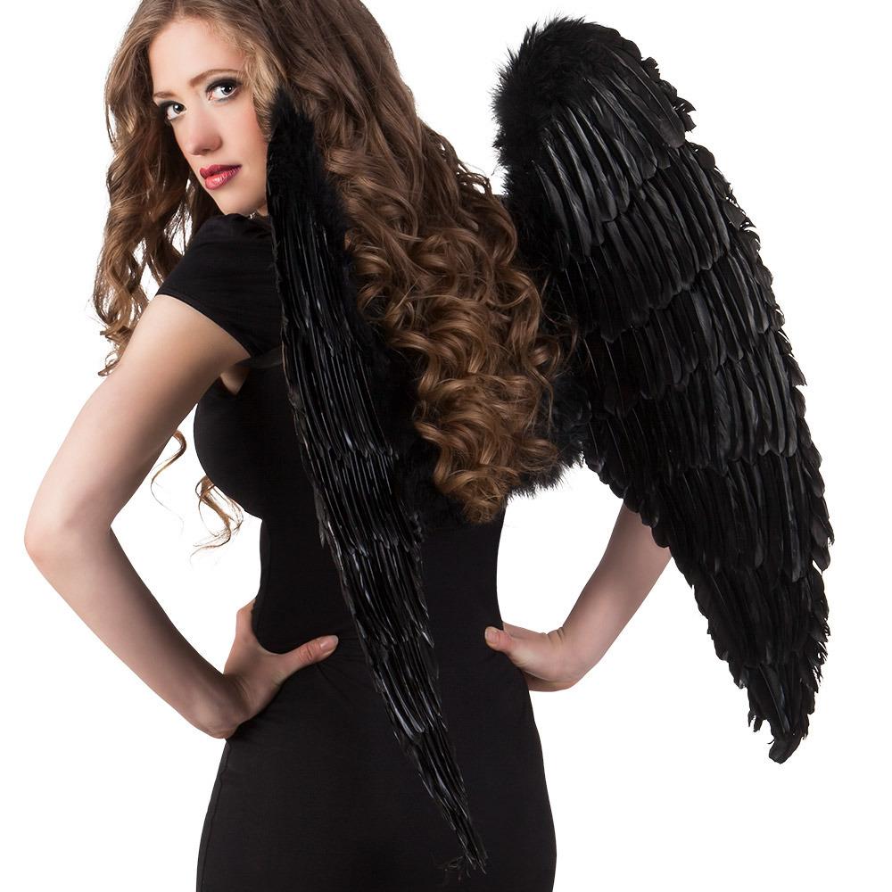 Gevederde vleugels 87 x 72 cm