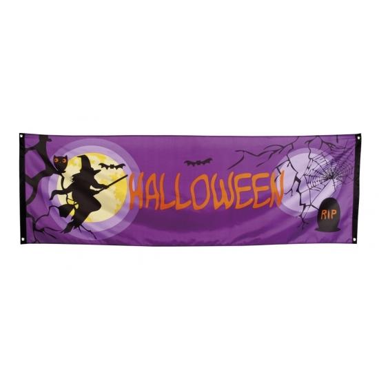 Gevelvlag Halloween buitenversiering 220 cm