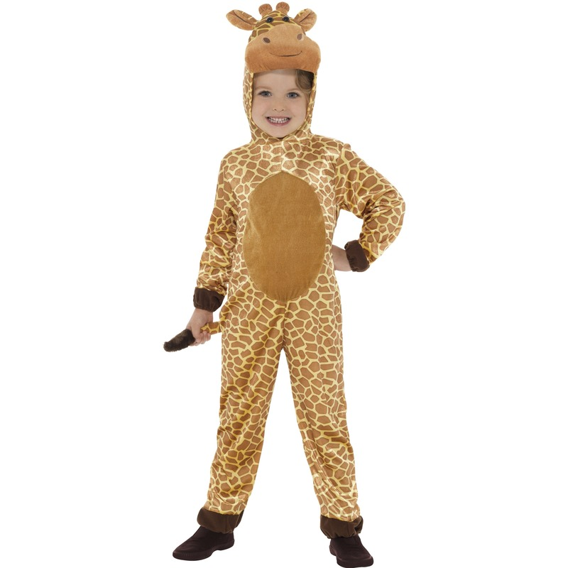 Giraffe verkleed kostuum voor kinderen