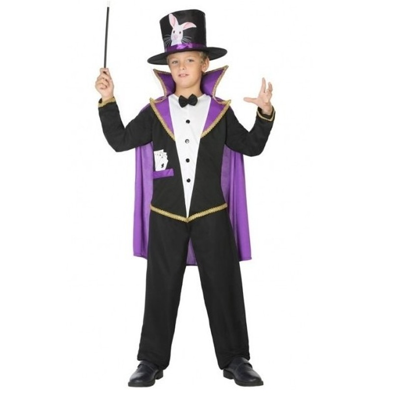 Goochelaar verkleed pak/kostuum voor kinderen