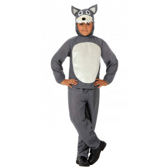 Grijze wolven verkleed kleding