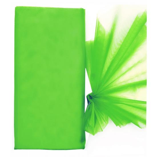 Groene organza strook 150 x 300 cm
