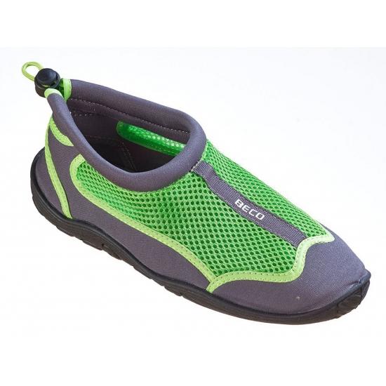 Groene waterschoenen/ surfschoenen heren