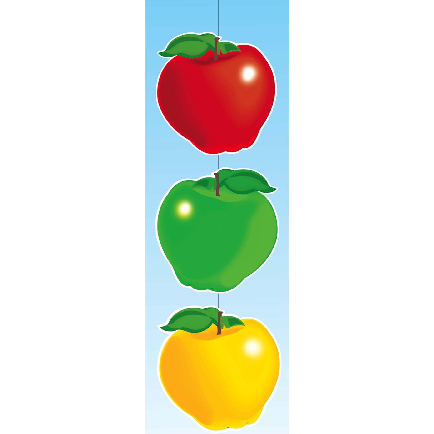 Groente en fruit thema appels