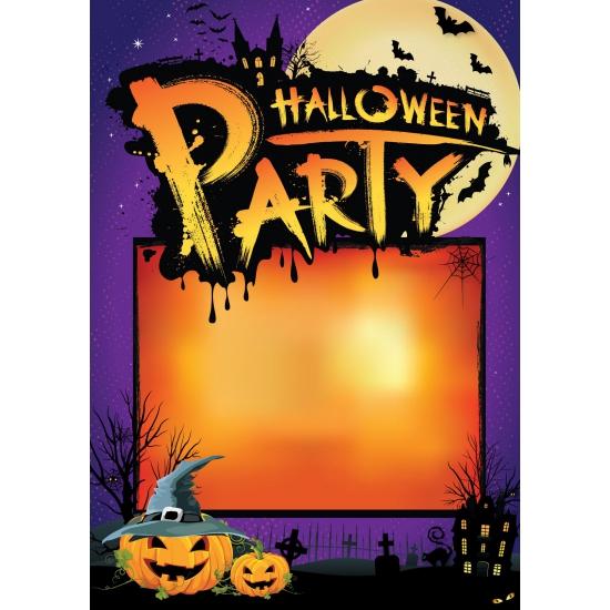 Halloween deurposter