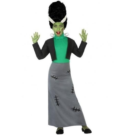 Halloween Frankenstein verkleed kostuum voor meisjes