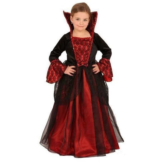 Halloween kinderkleding lange jurk