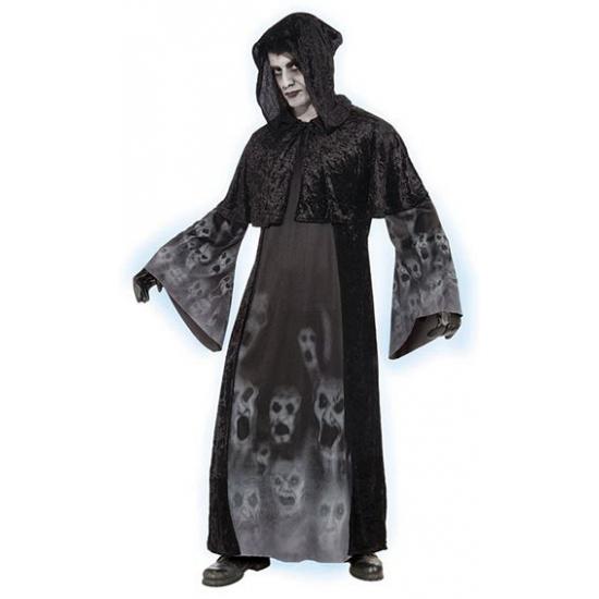 Halloween outfit zwart gewaad