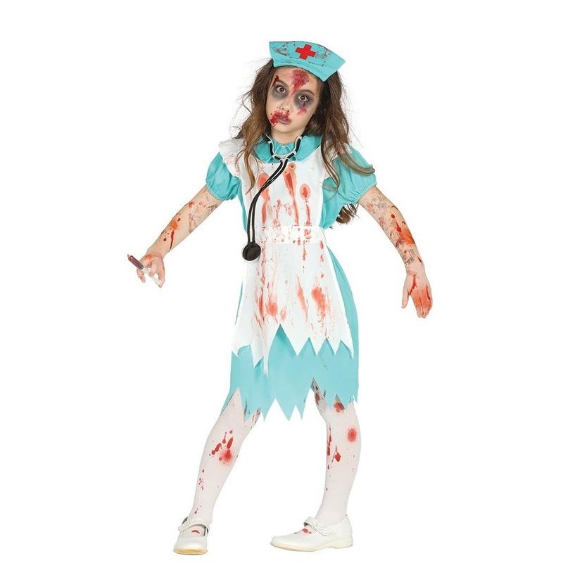 Halloween - Zombie verpleegster/zuster verkleedkostuum voor meisjes