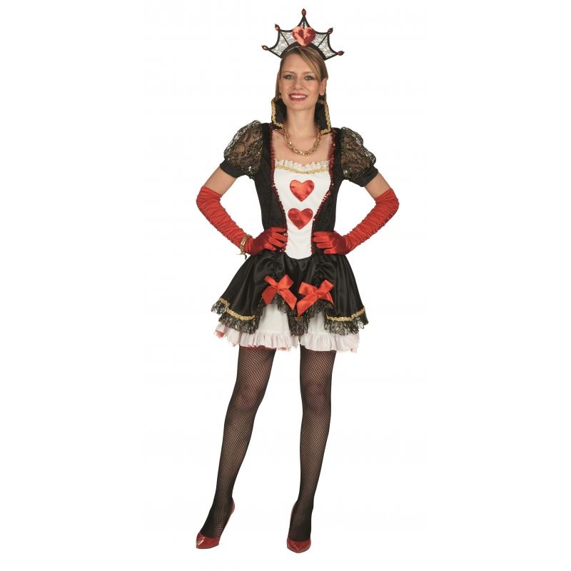 Hartenkoningin jurk voor dames