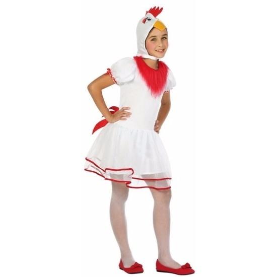 Hen/kip Pok kostuum voor meisjes