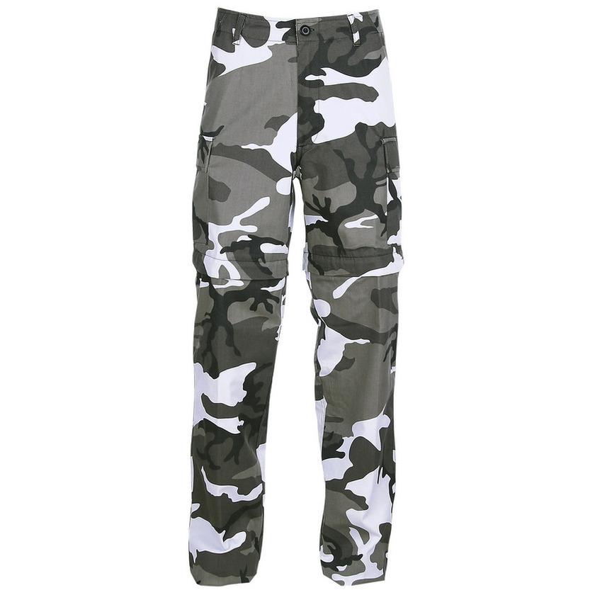 Heren lange camouflage broek urban