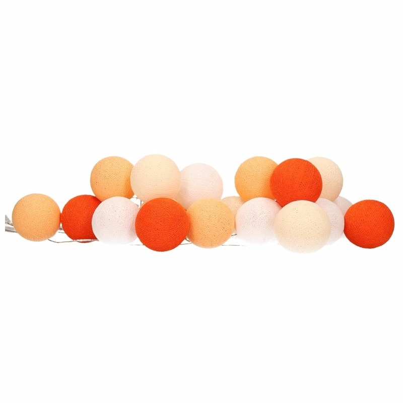 Holland lichtsnoer oranje