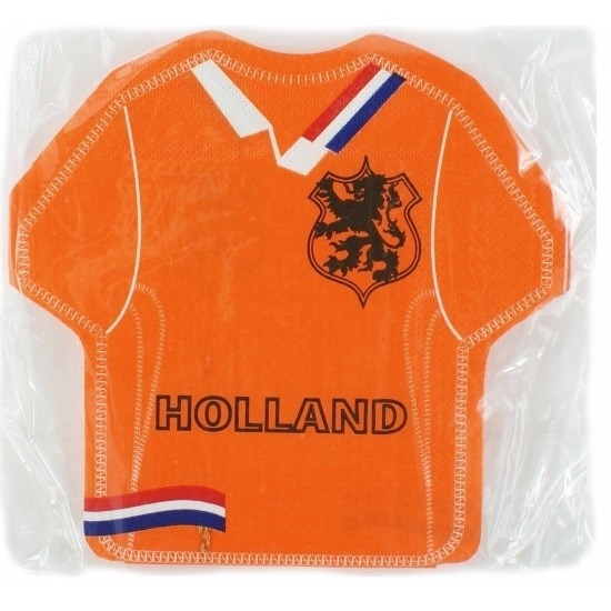 Holland supporters servetten 16 stuks