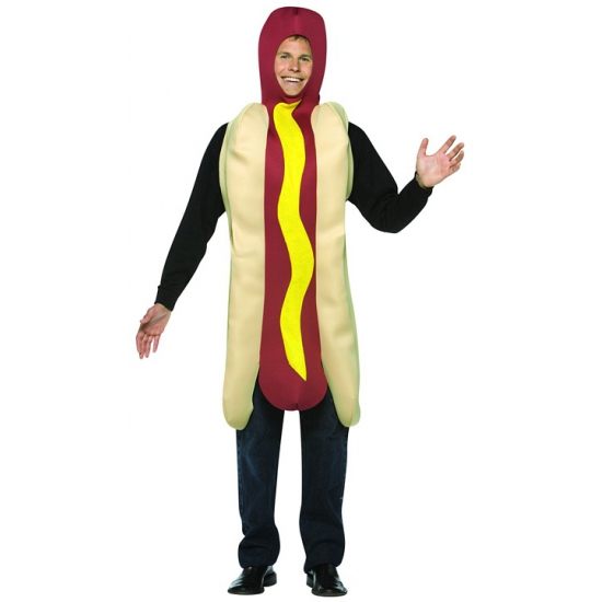 Hotdog funny verkleedkleding kostuum