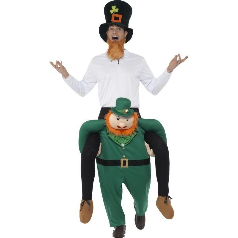 Instapkostuum St Patricksday kabouter voor volwassenen