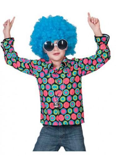 Jaren 70 disco overhemd voor kinderen Alkmaar