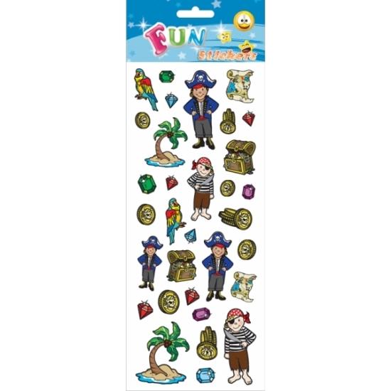 Kado stickers piraten