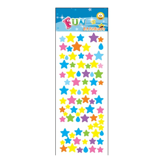 Kado stickers sterren